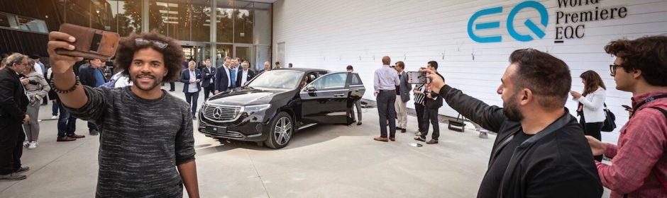 Mercedes EQC autosalon