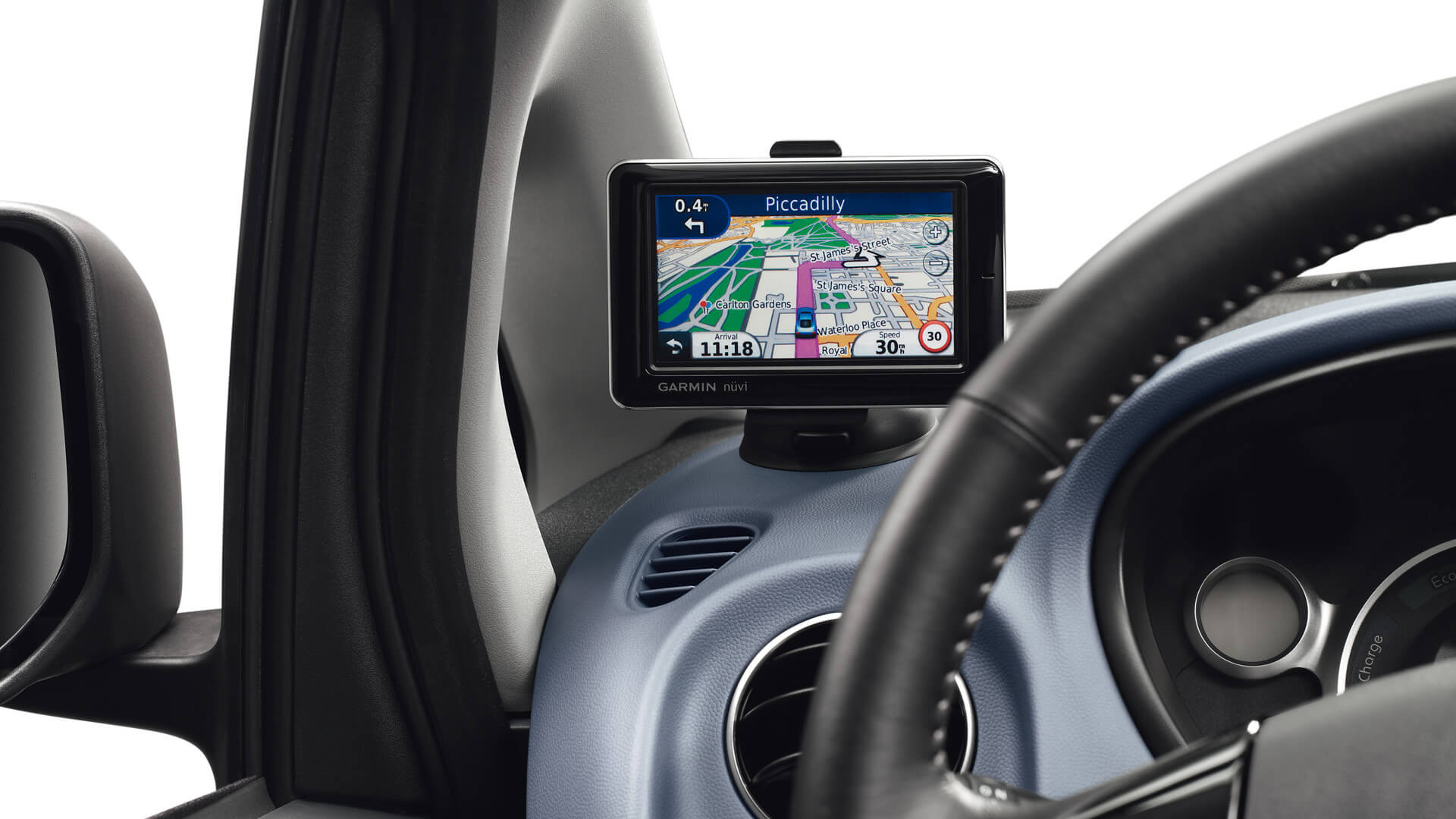 Peugeot iON navigatie