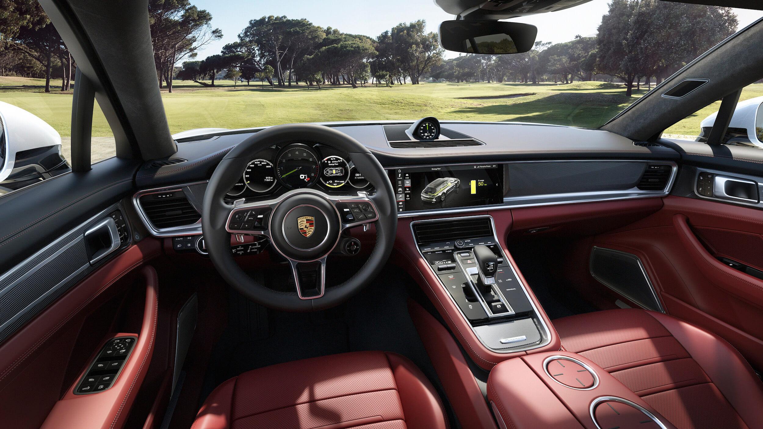 Porsche Panamera Hybride Interieur