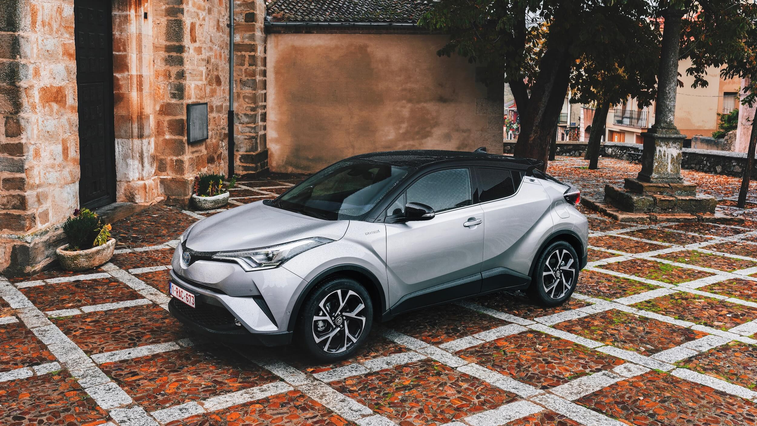 Toyota C-HR grey