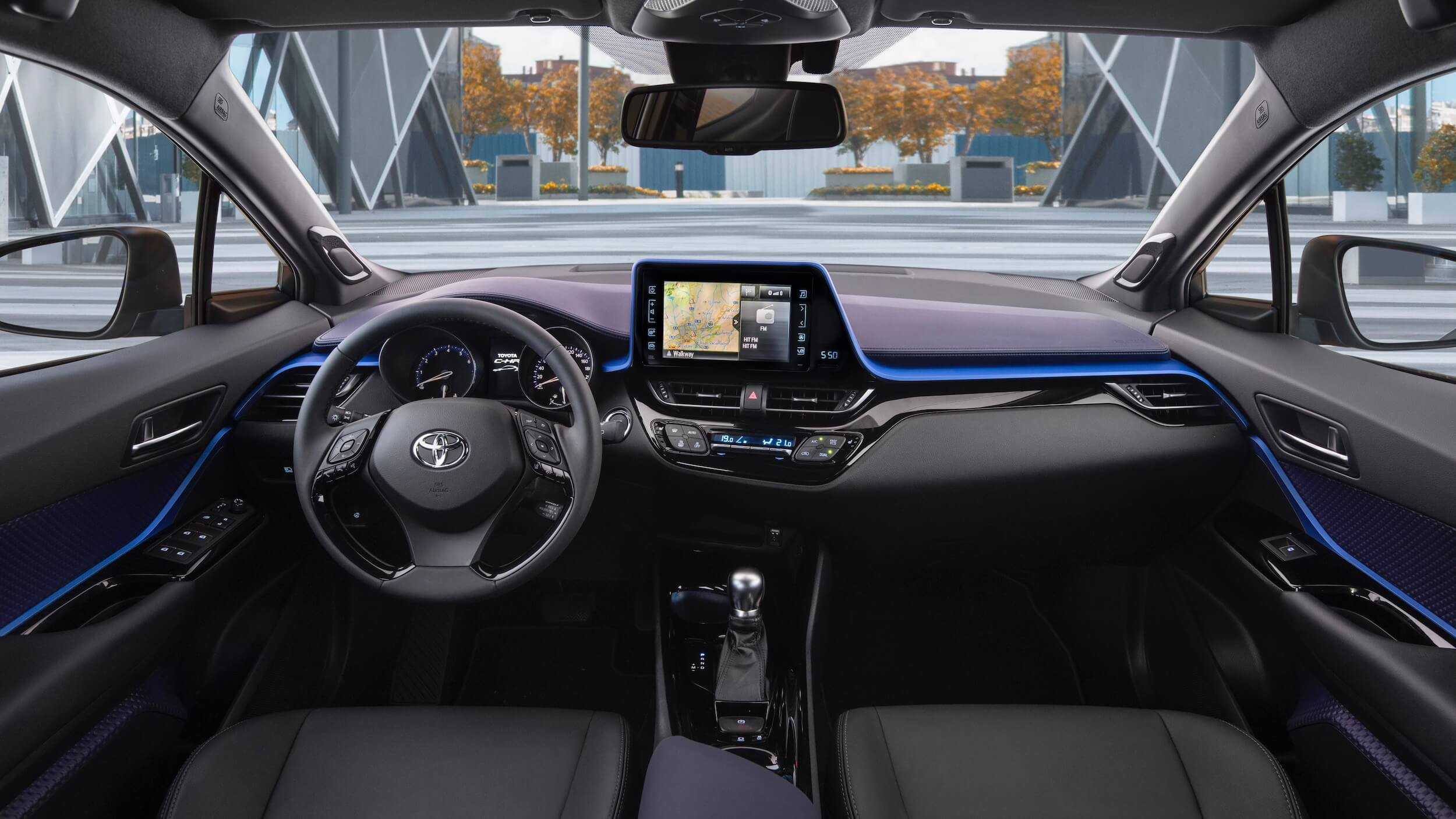 Toyota C-HR interior