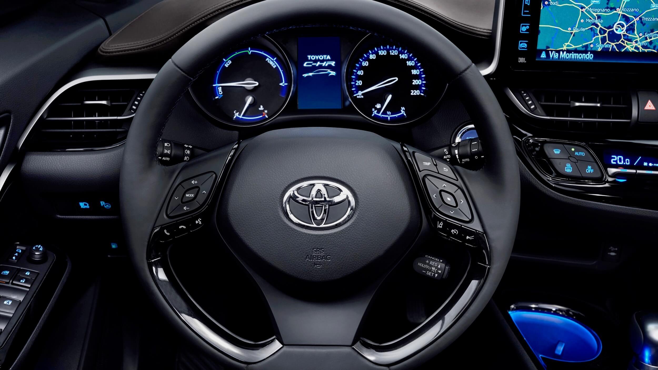 Toyota C-HR stuur