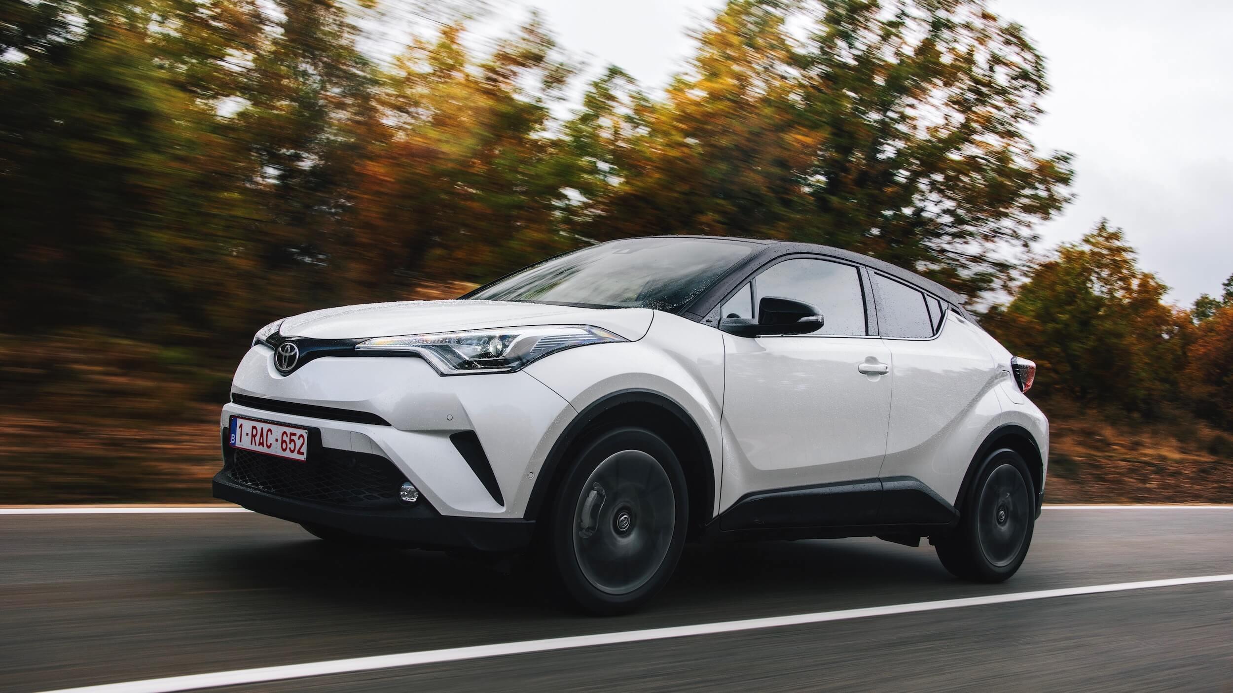 Toyota C-HR white