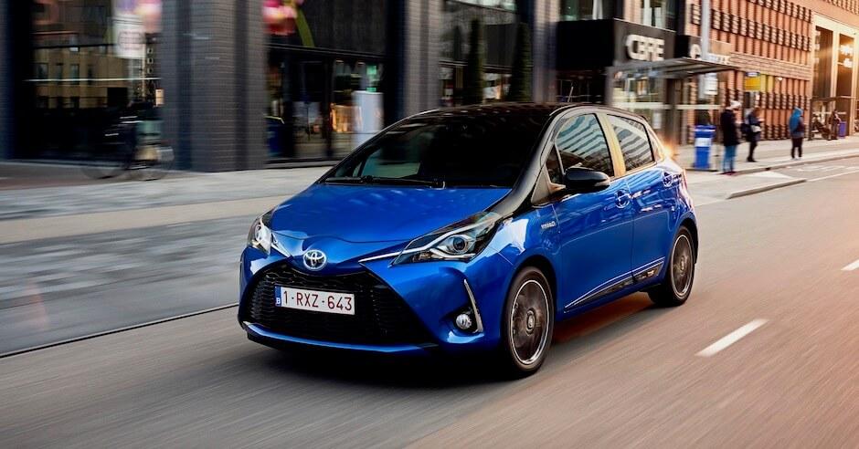 Toyota Yaris hybride stadsauto