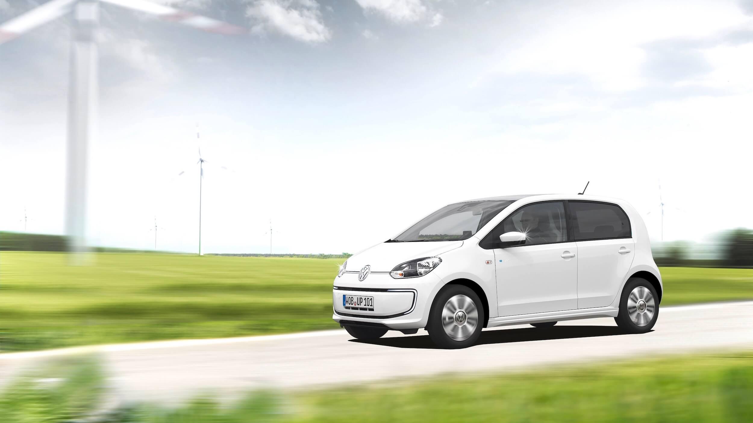 rijdende VW e-Up