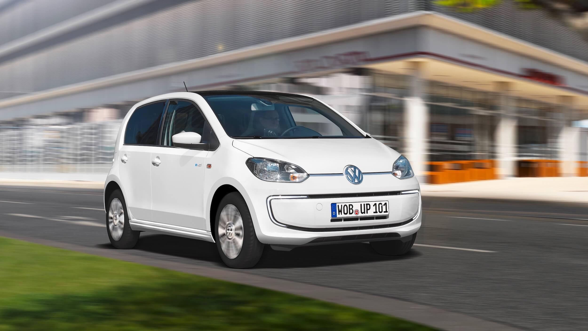 witte Volkswagen e-Up