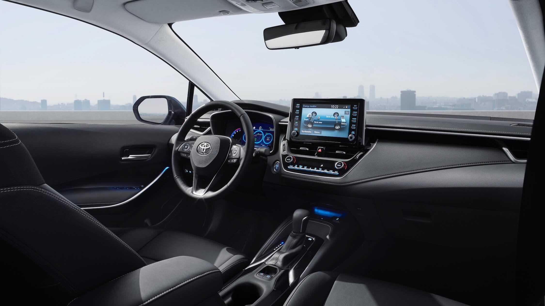 2019 Toyota Corolla interieur