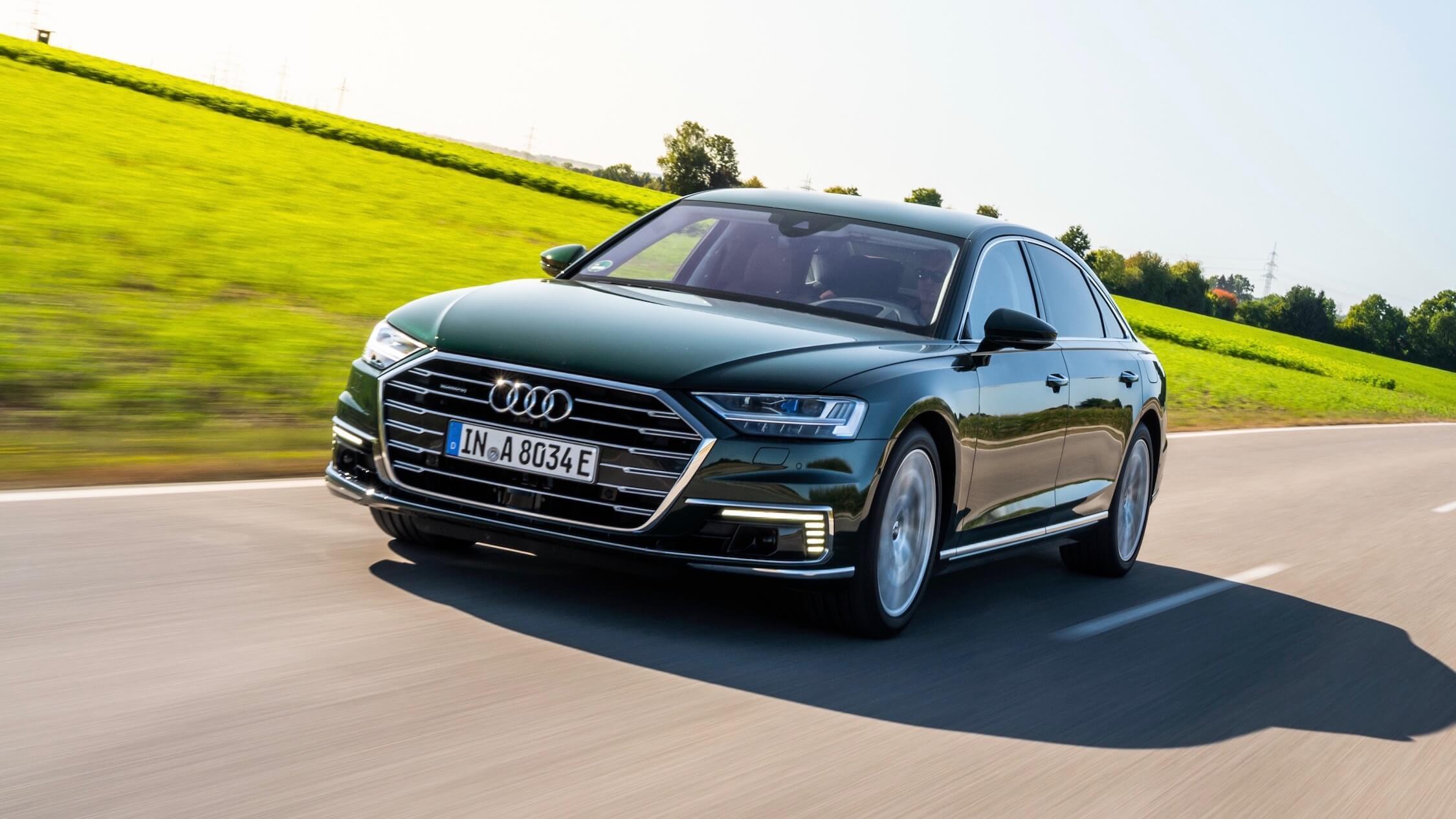Audi A8 plug-in hybride