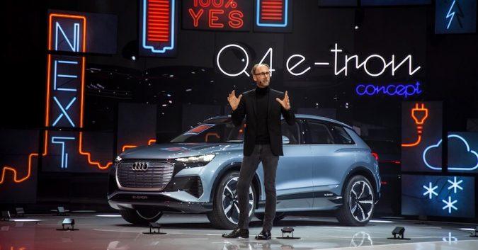 Audi Q4 e-tron Geneva