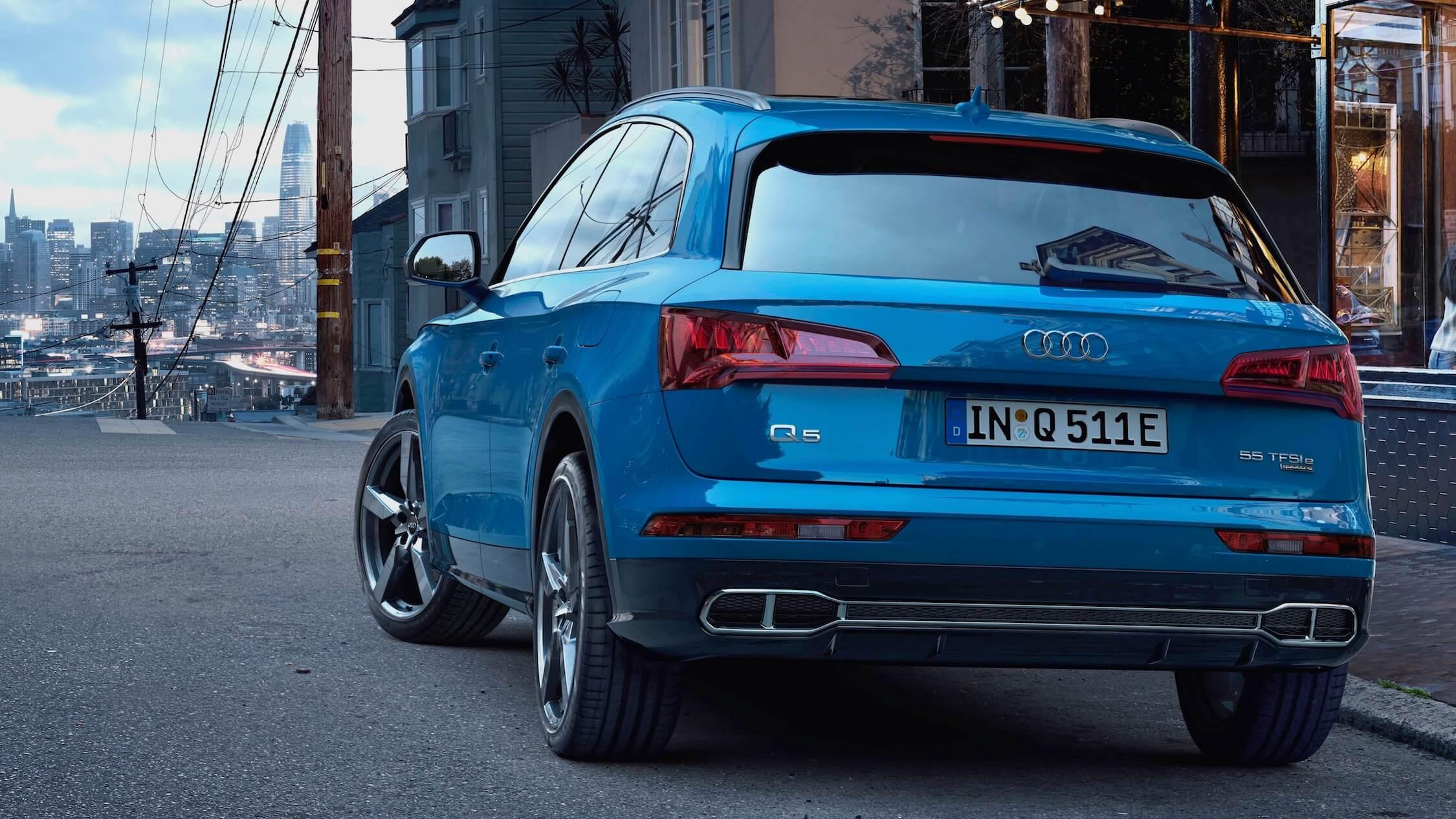 Audi Q5 achterkant