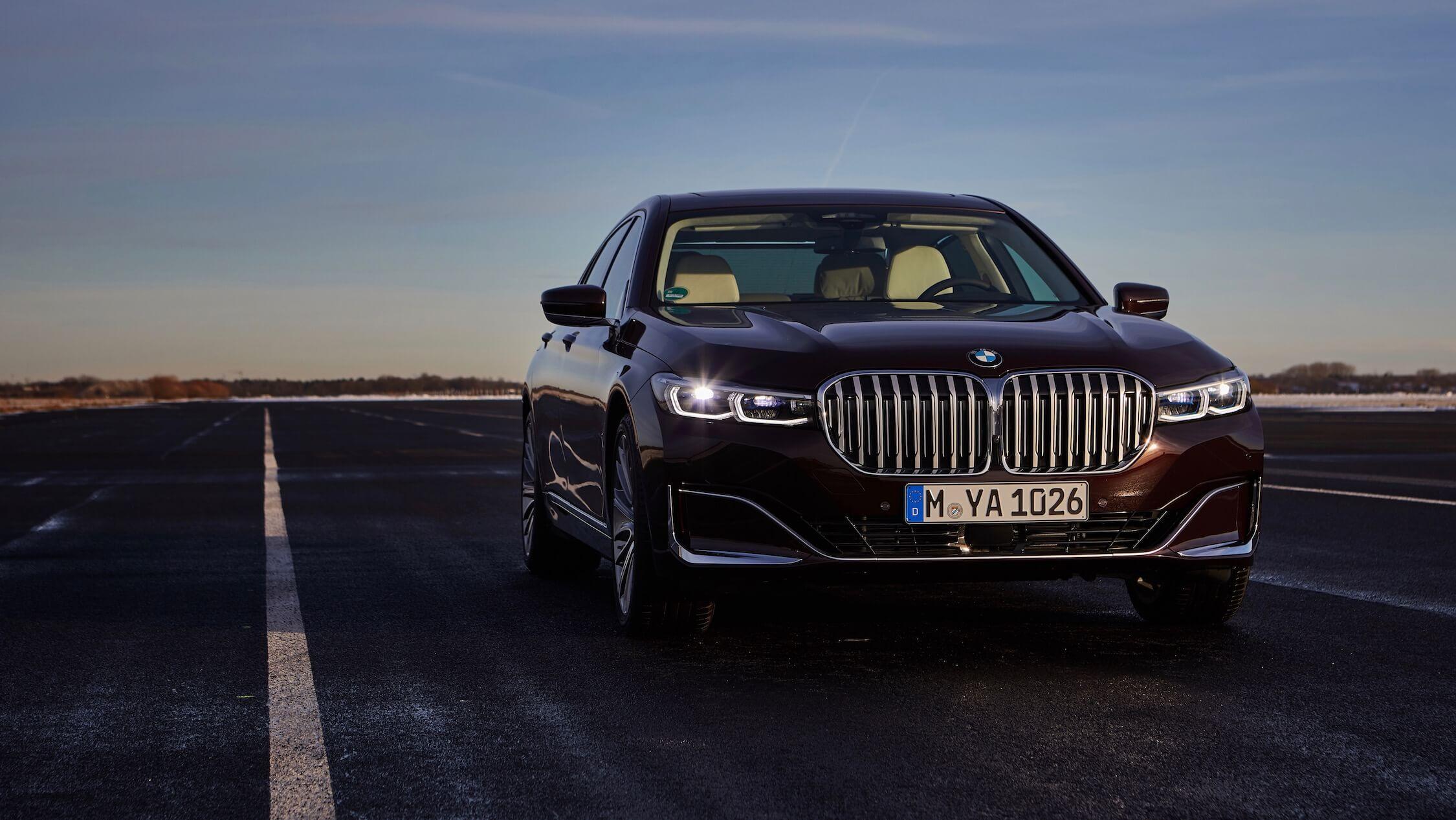 BMW 7 hybride