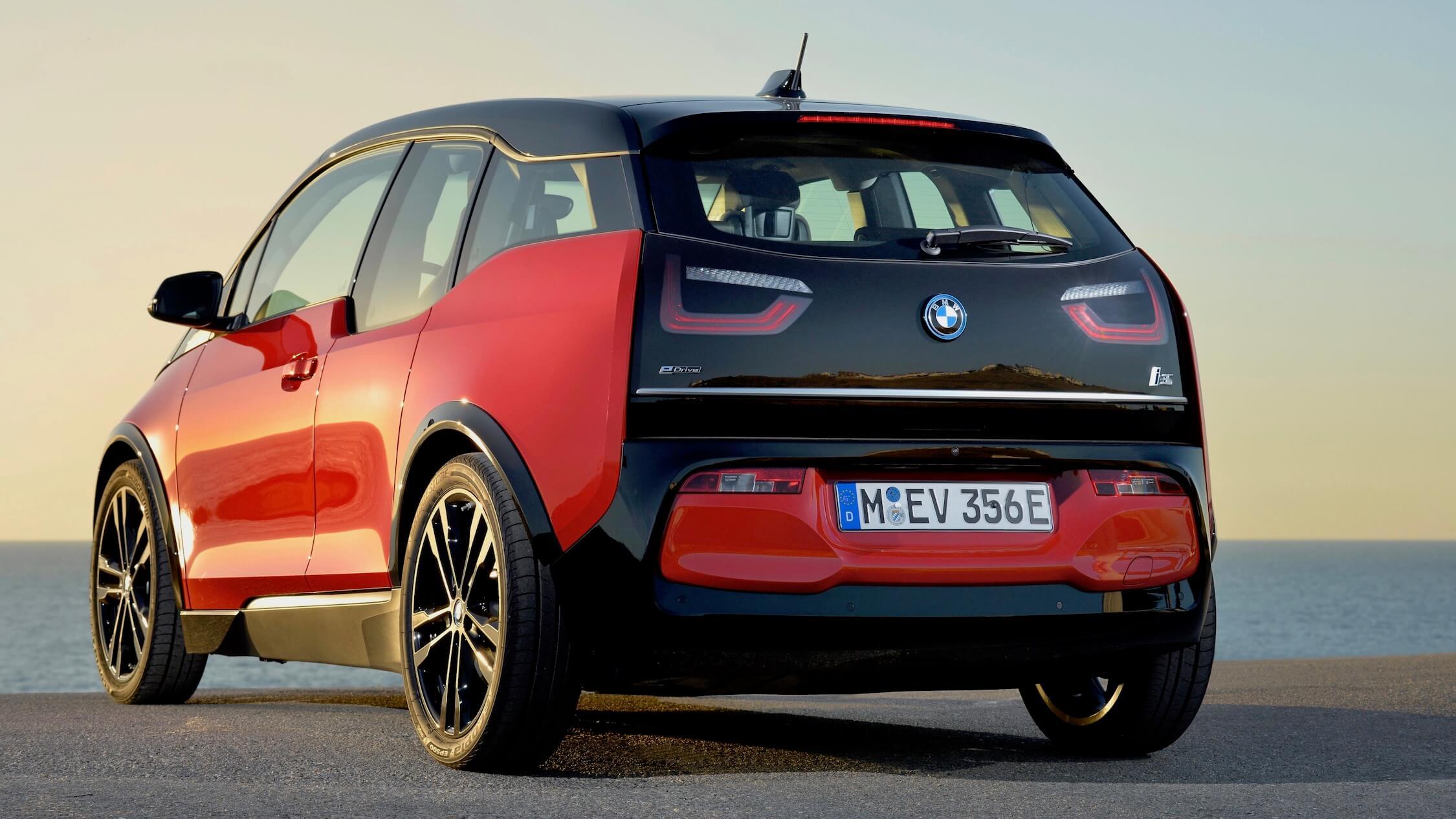 BMW i3 achterkant