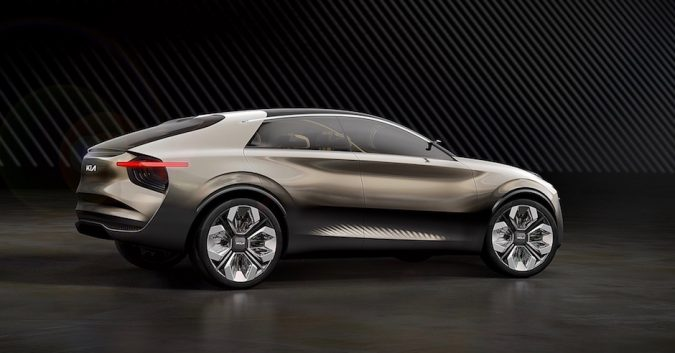 Electric SUV Kia Geneva 2019