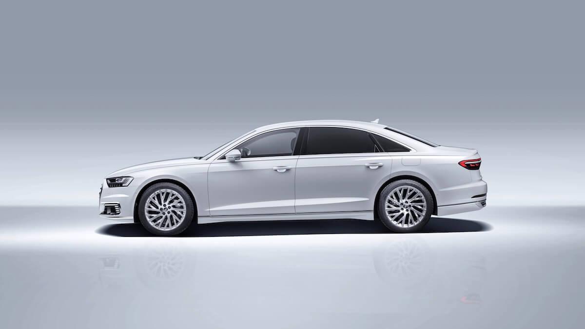 Hybride Audi A8 TFSI-e foto