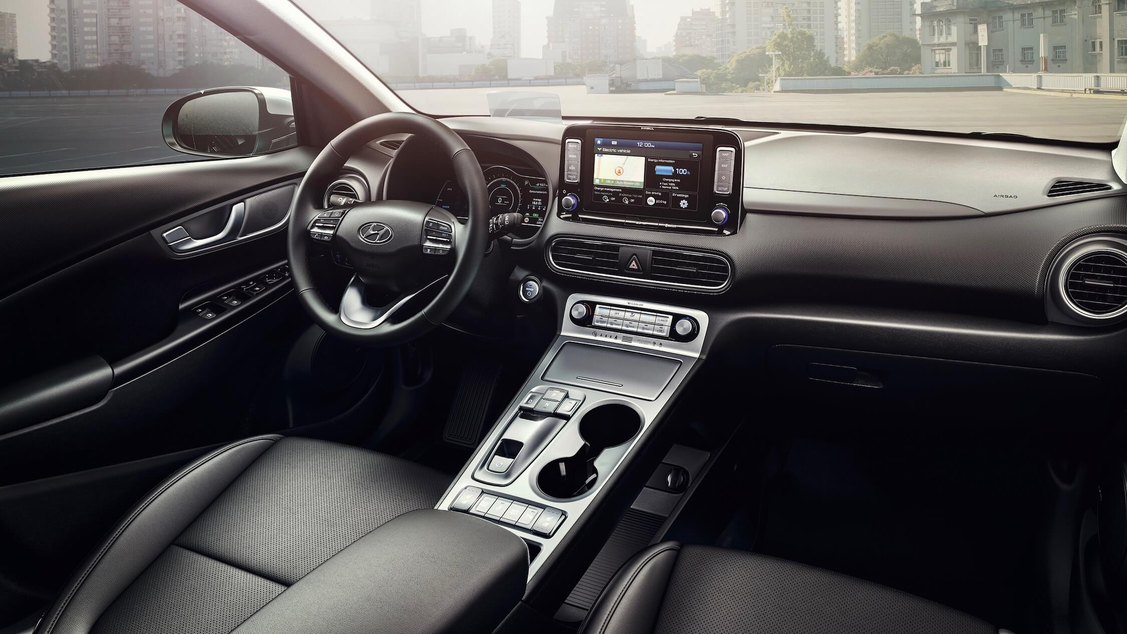 Hyundai Kona EV interieur