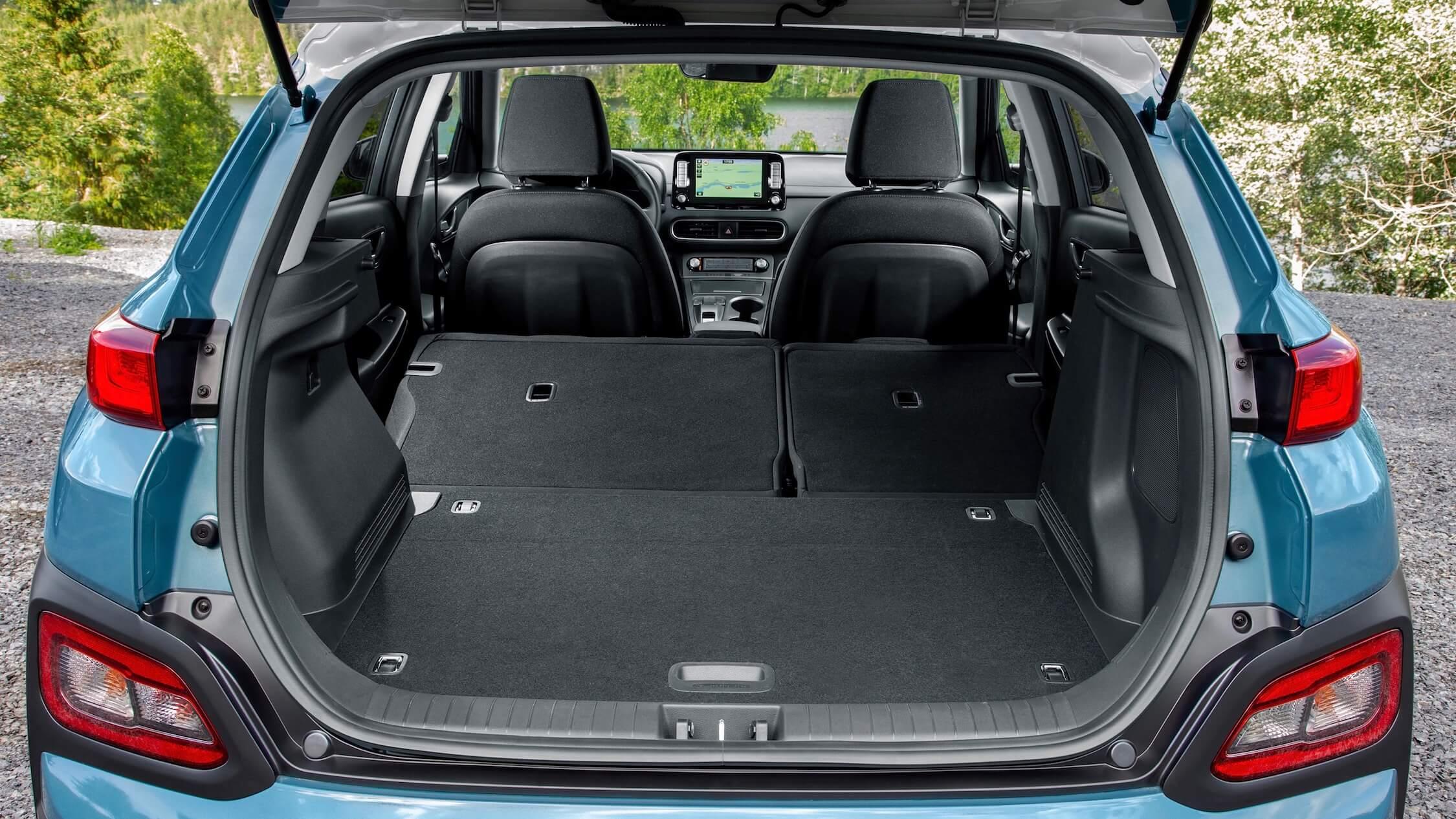 Hyundai Kona EV koffer