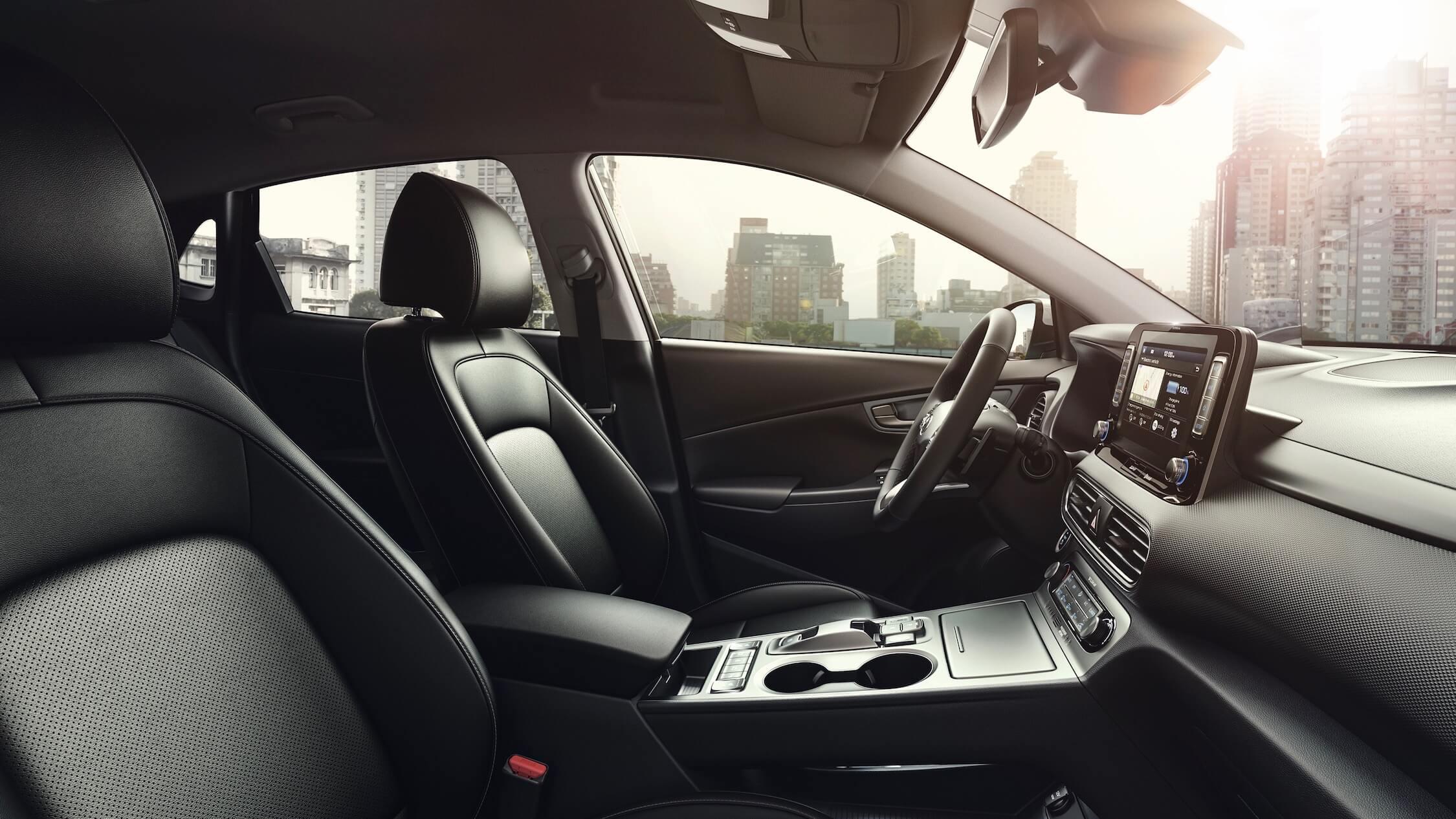 Hyundai Kona EV zetels