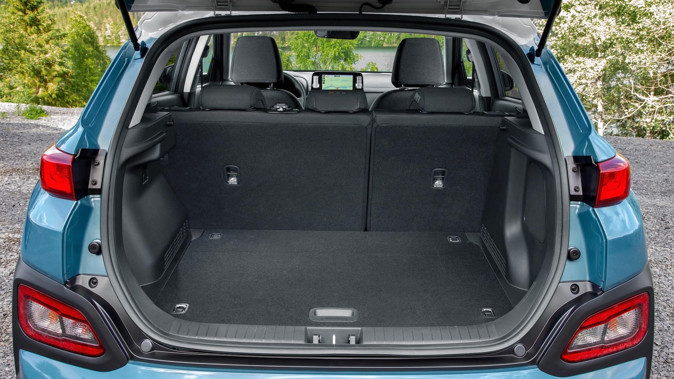 Hyundai Kona Electric koffer
