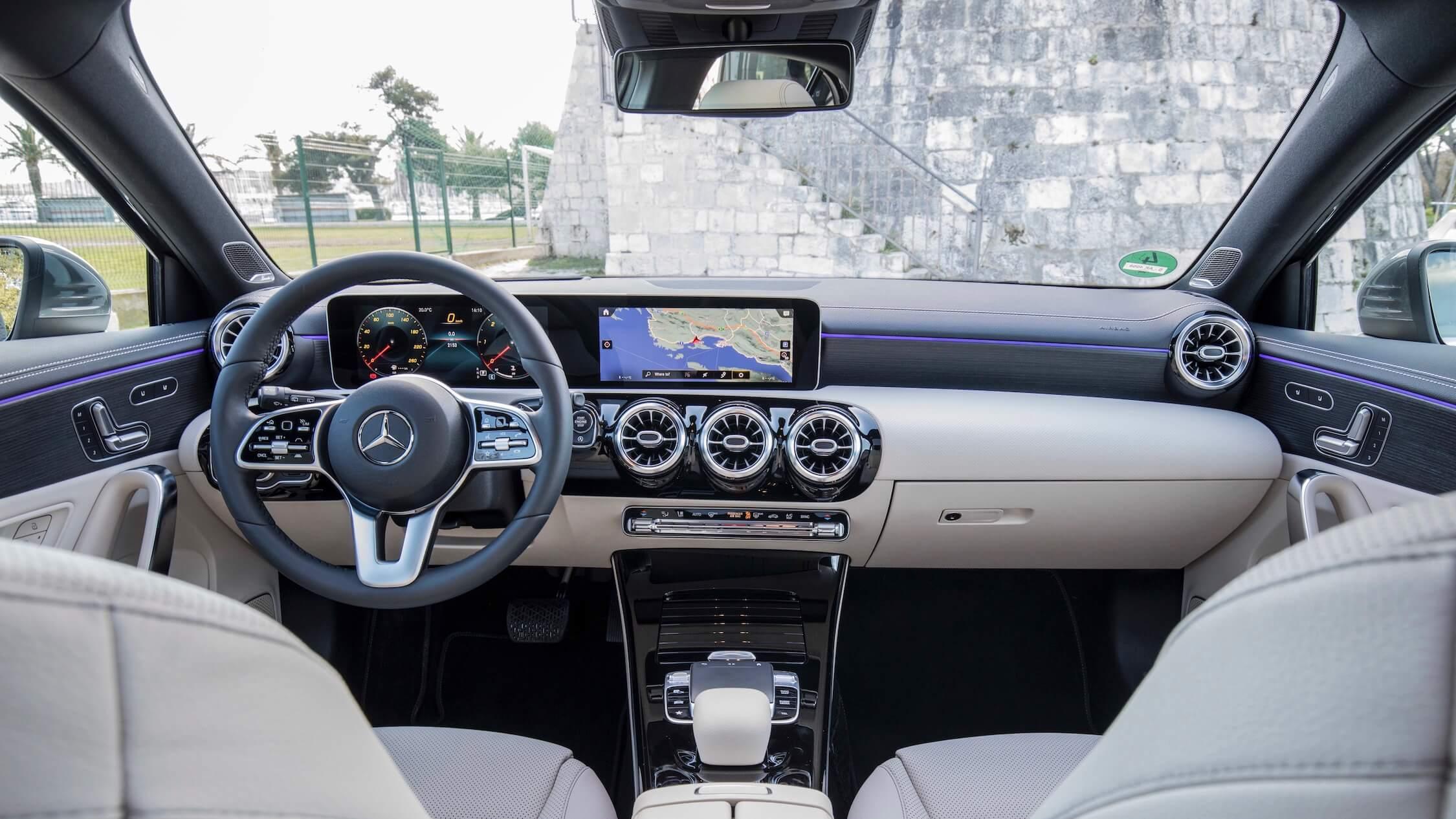 Mercedes A-Klasse interieur