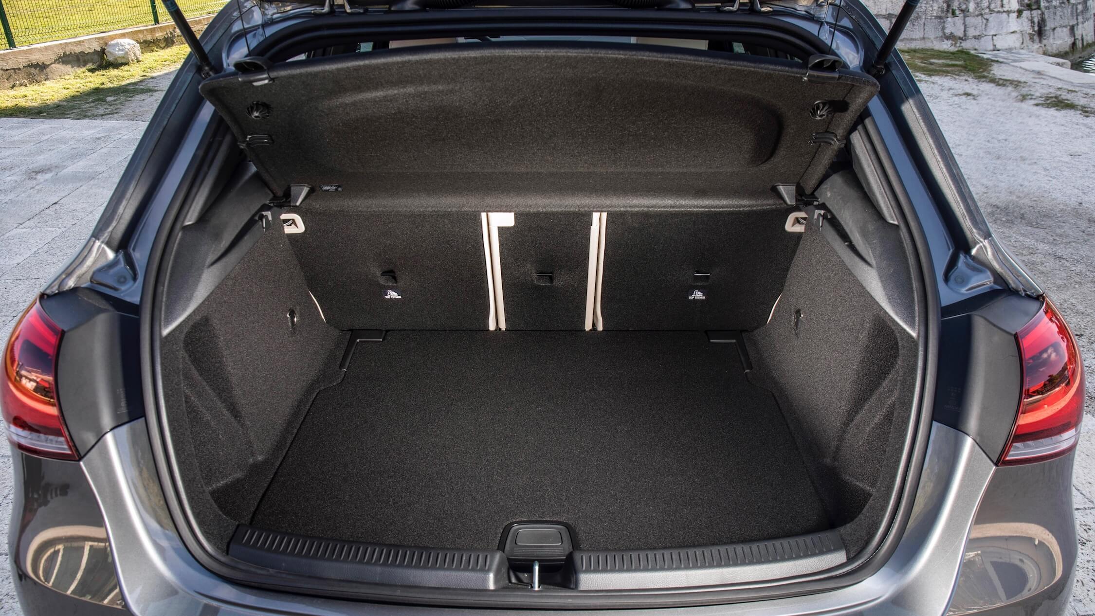 Mercedes A-Klasse koffer