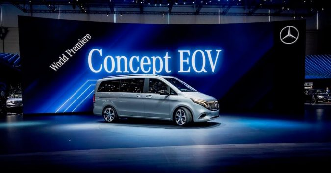 Mercedes EQV electric van