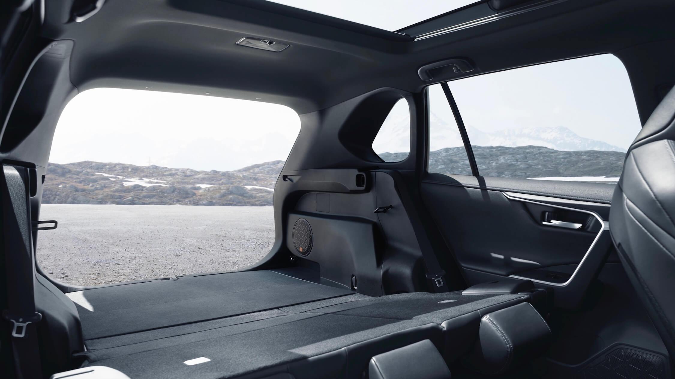 Toyota RAV4 neerklapbare zetels