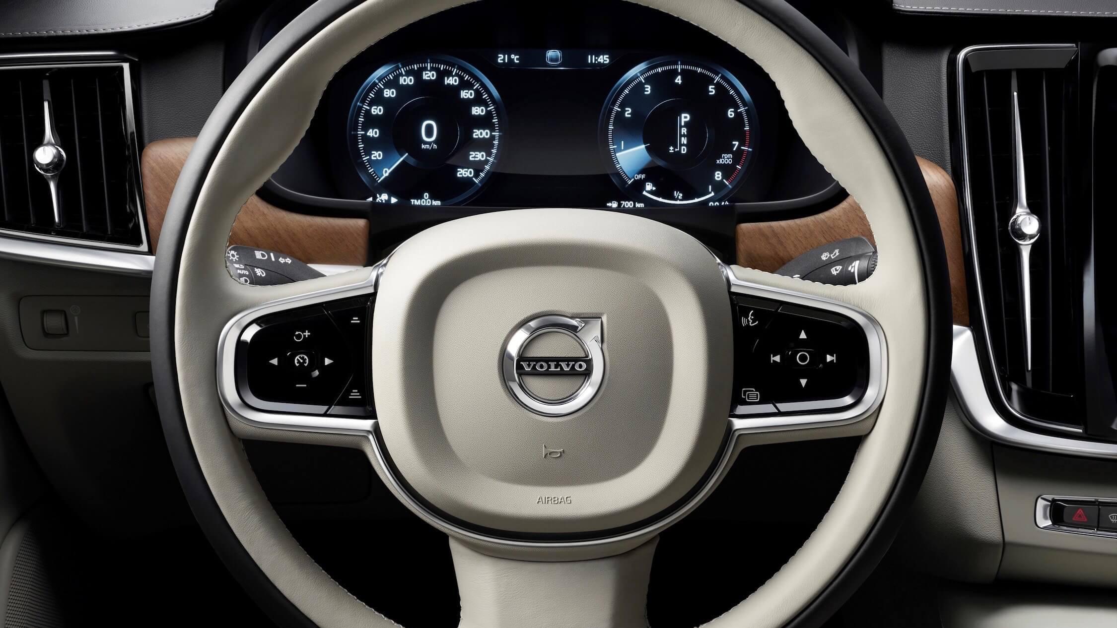 Volvo-S90-stuur