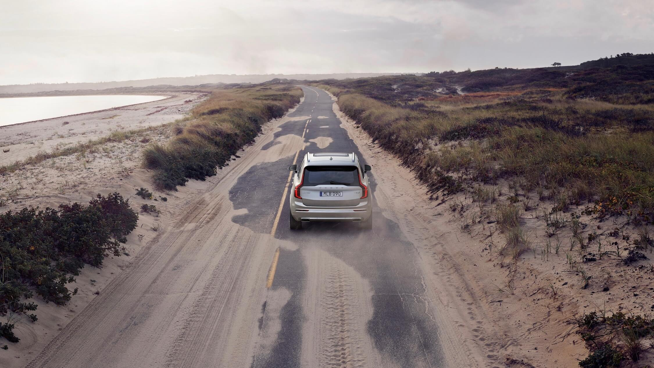 Volvo XC90 PHEV achterkant