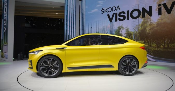 electric skoda geneva 2019