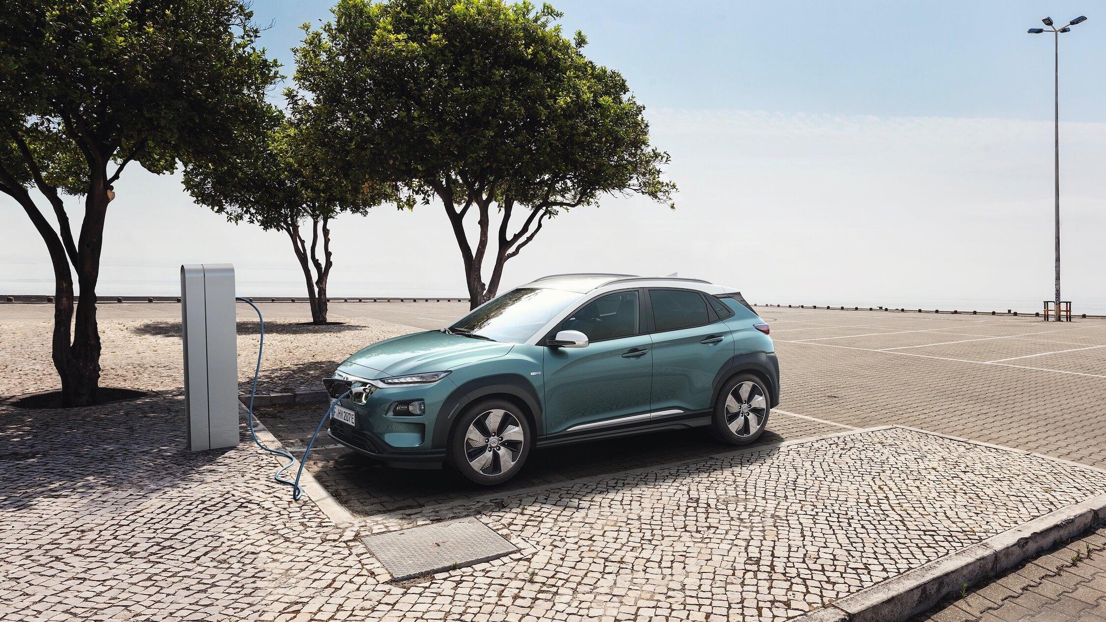 elektrische Hyundai Kona opladen