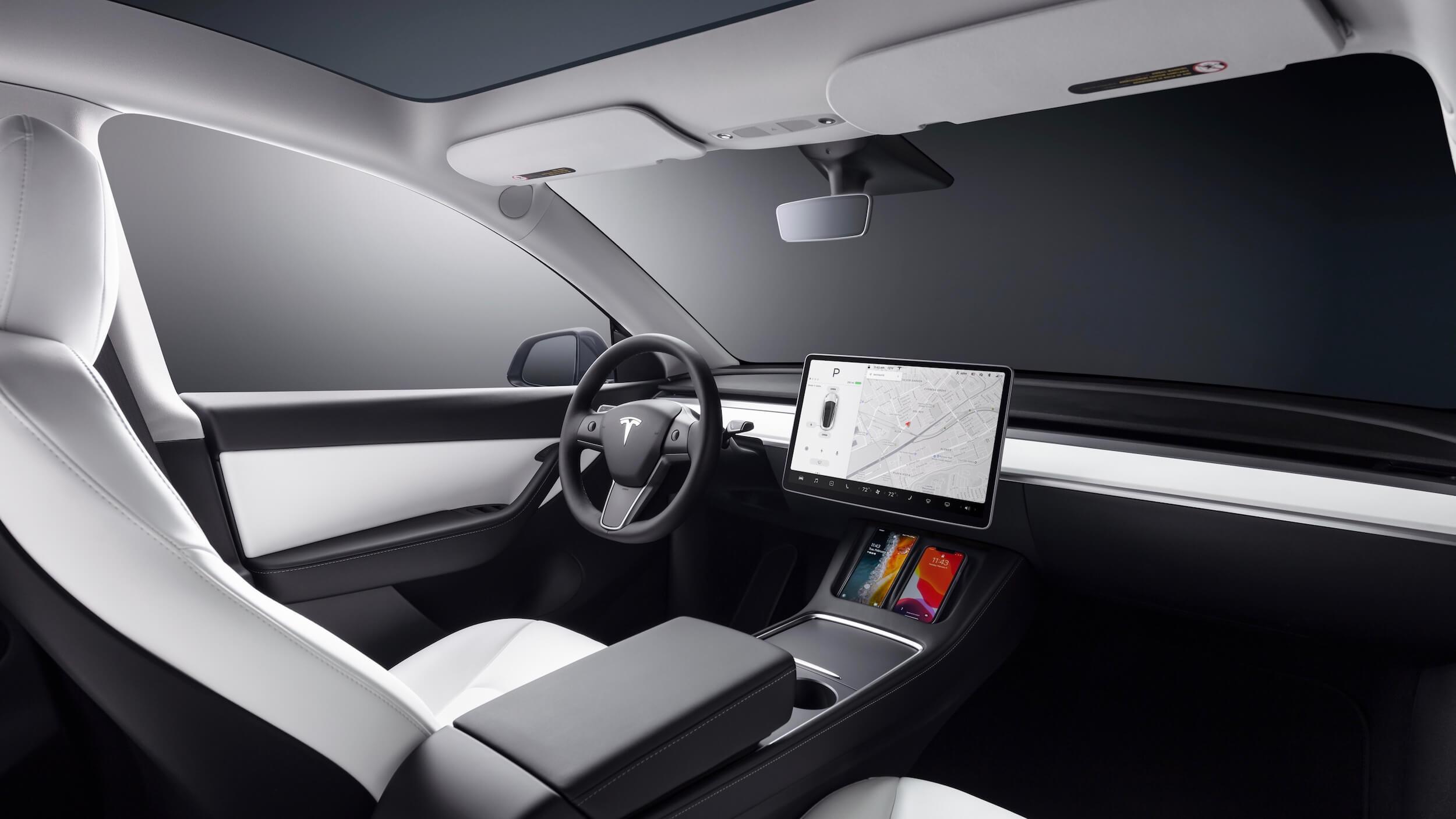 2021 Tesla Model Y interieur