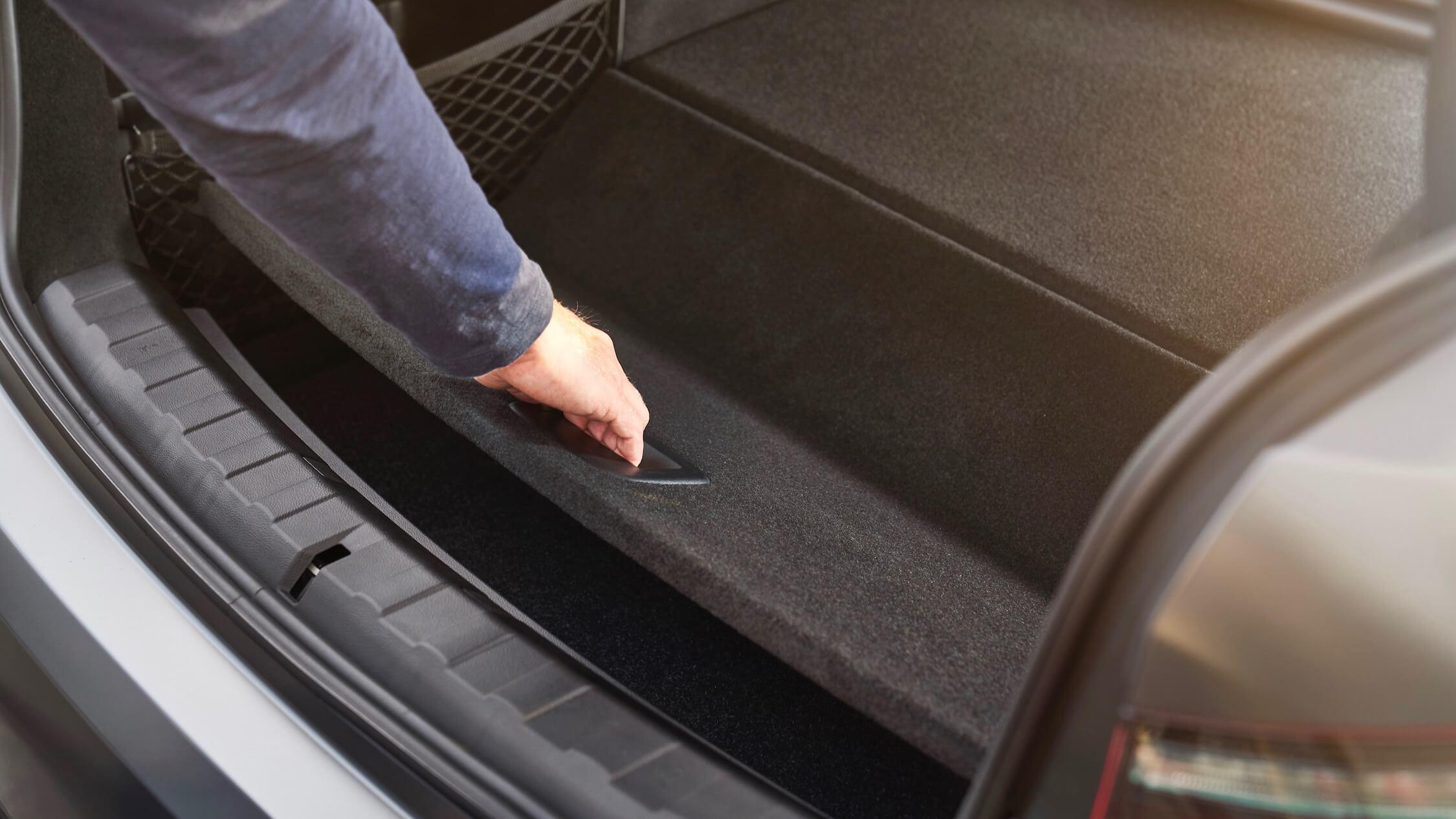 BMW 330e kofferruimte