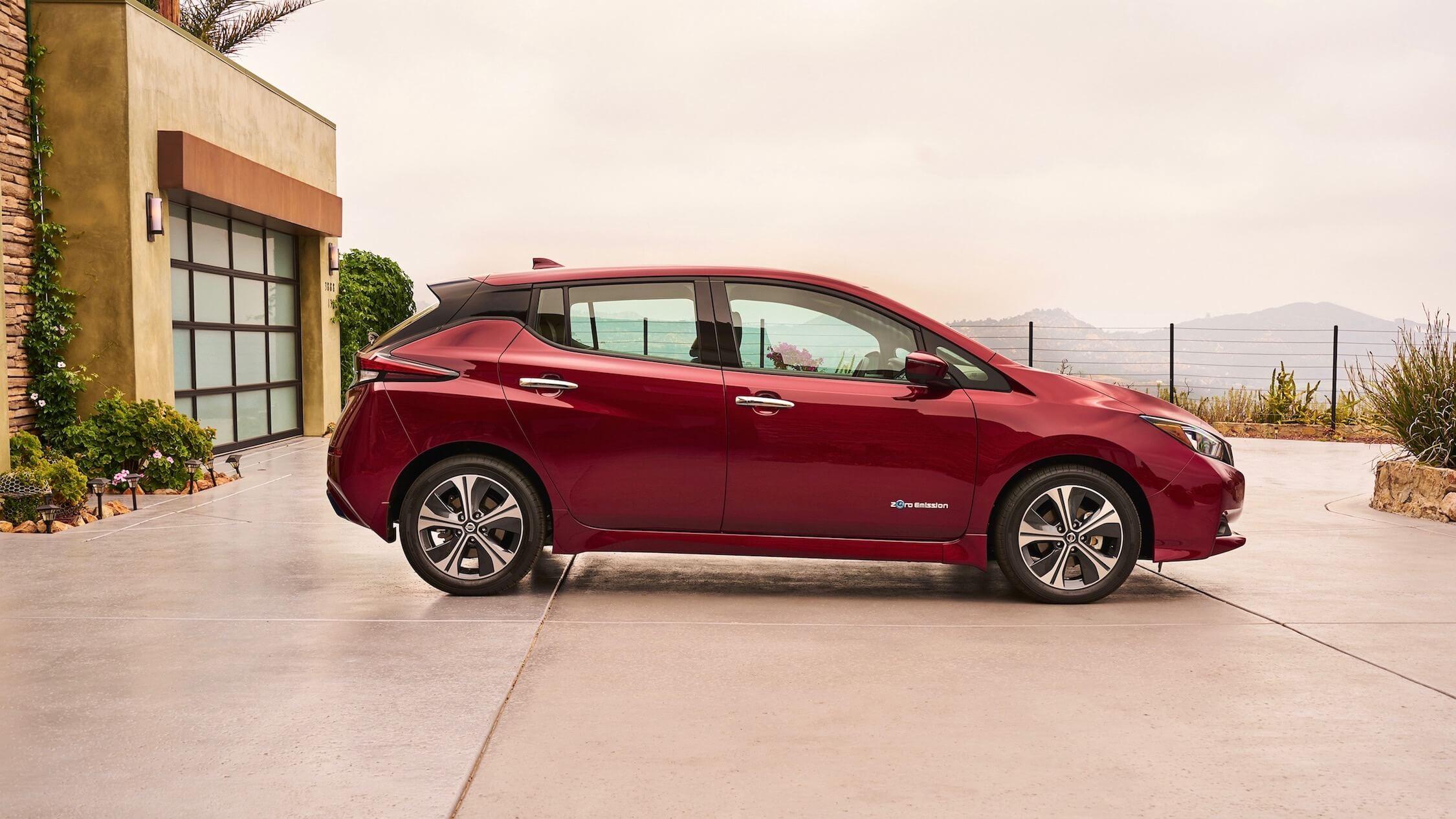 Elektrische Nissan Leaf