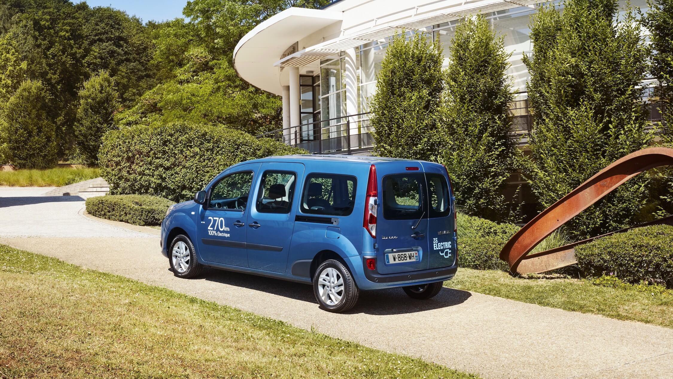 Elektrische Renault Kangoo ZE Maxi