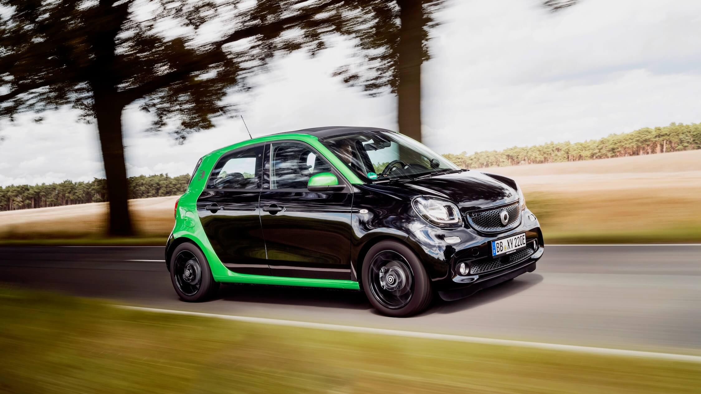 Elektrische Smart EQ forfour