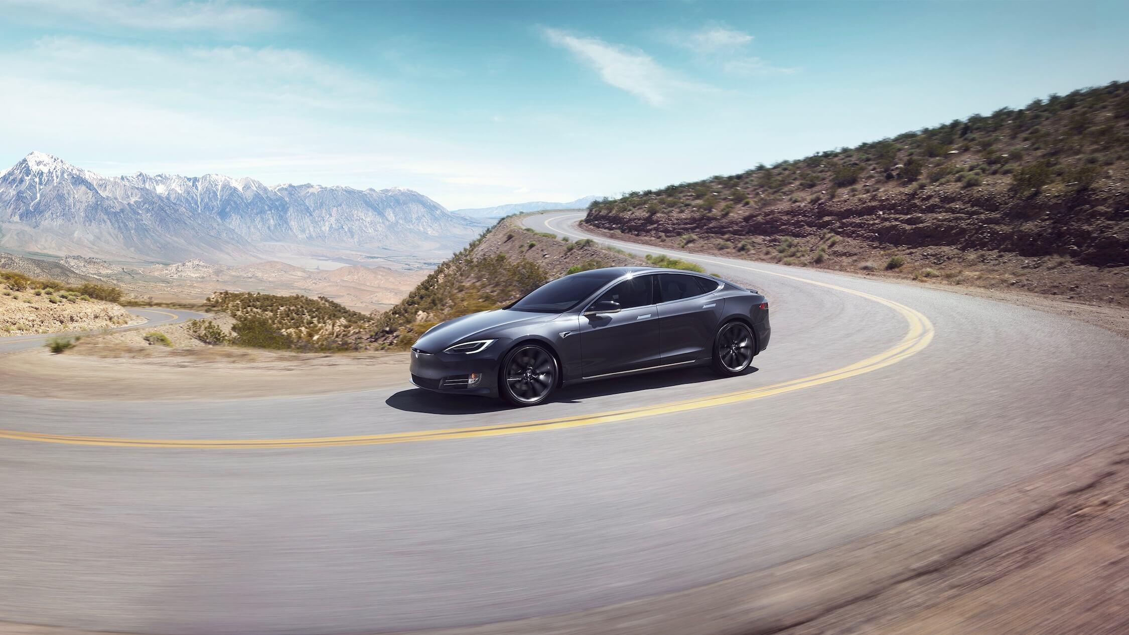 Elektrische Tesla Model S