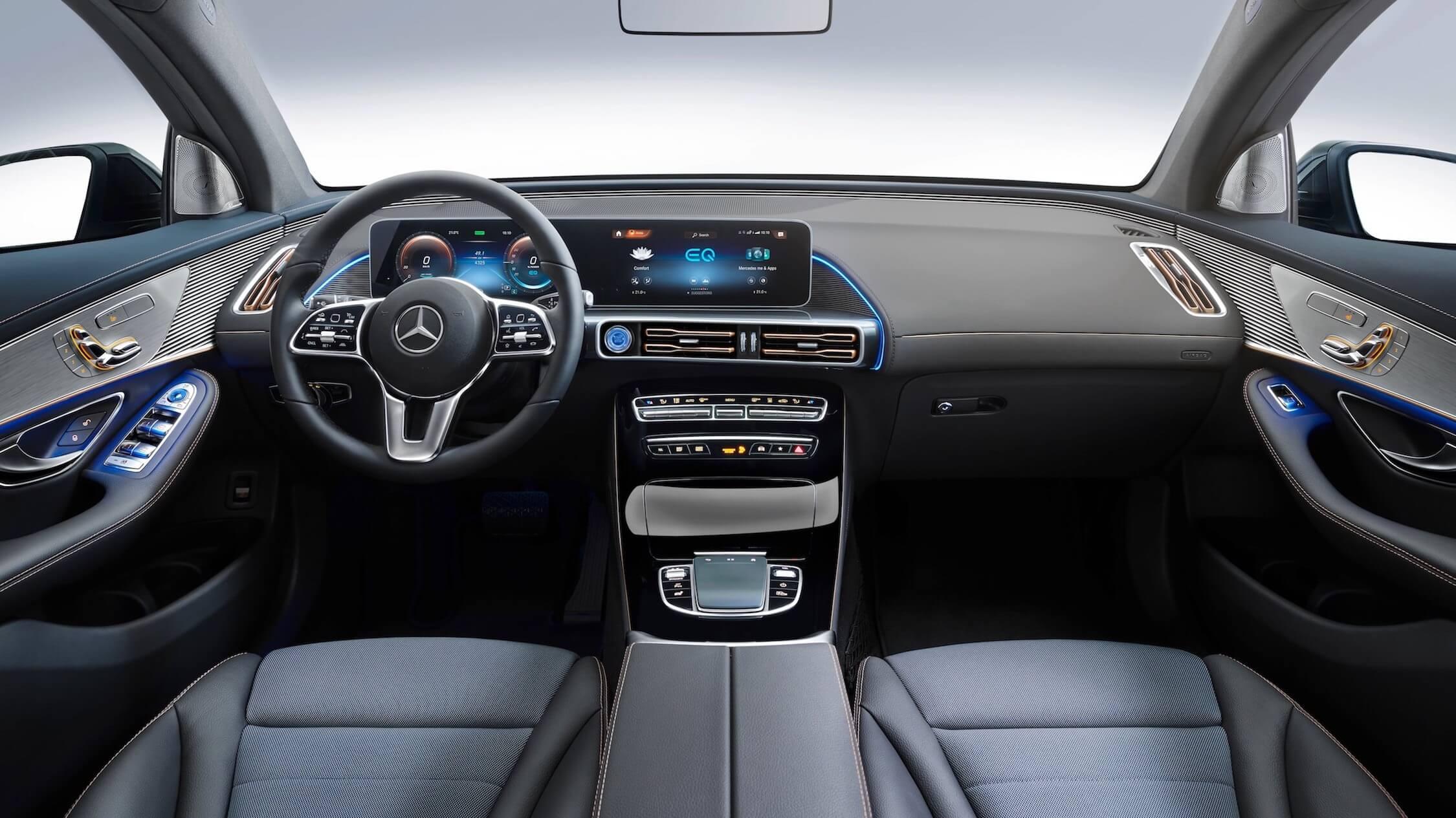Mercedes EQC interieur