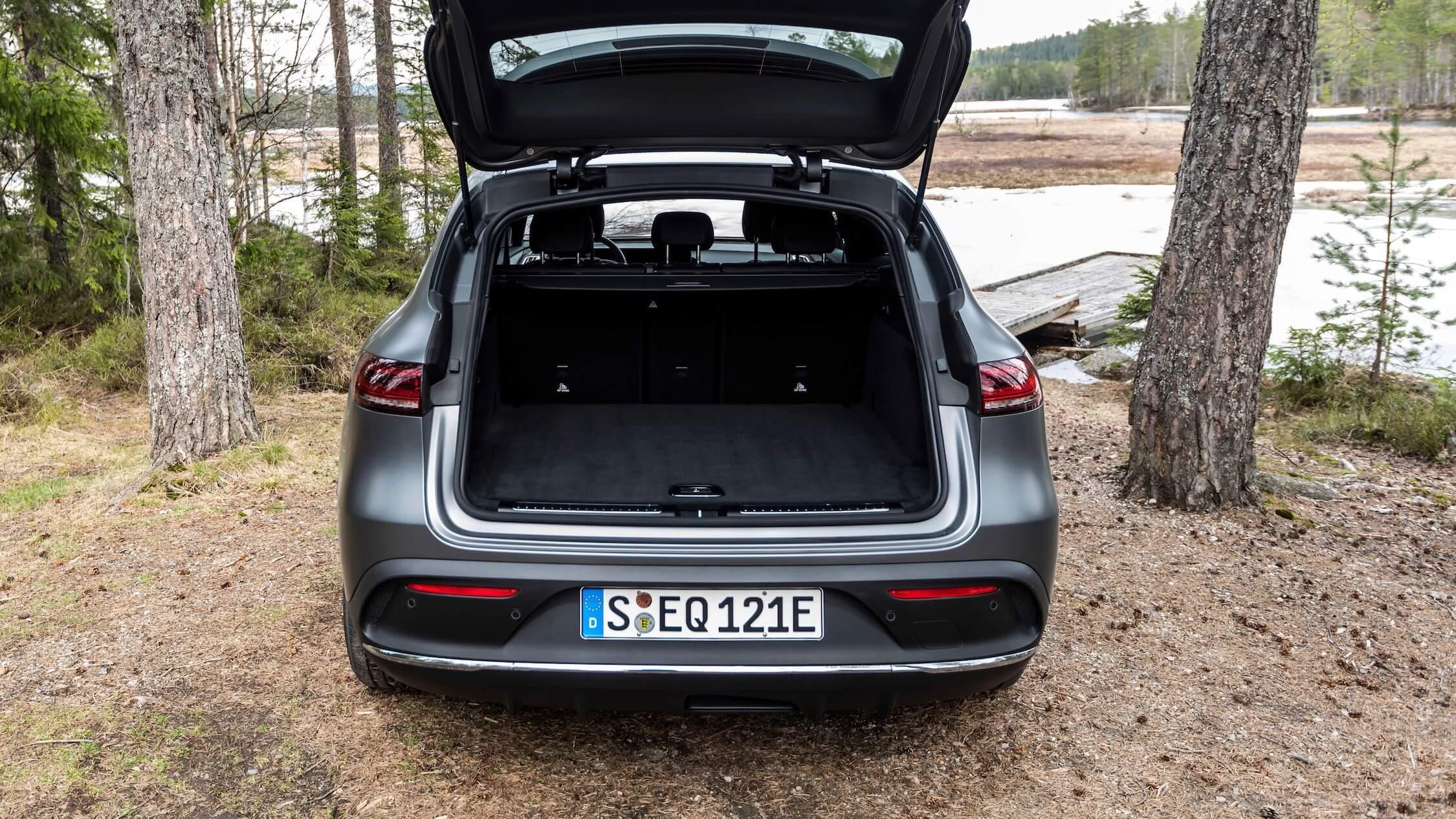 Mercedes EQC koffer