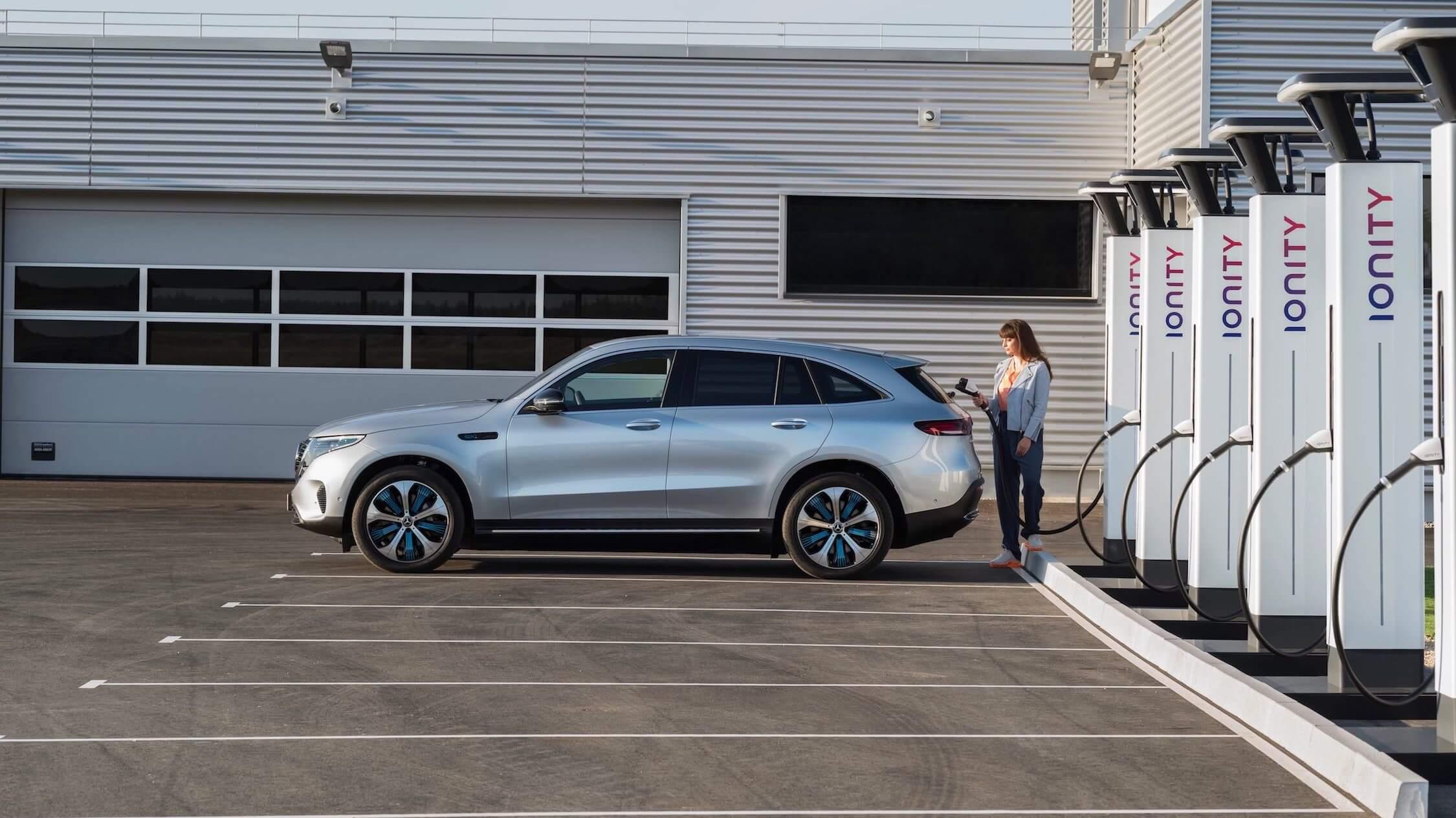 Mercedes EQC snelladen