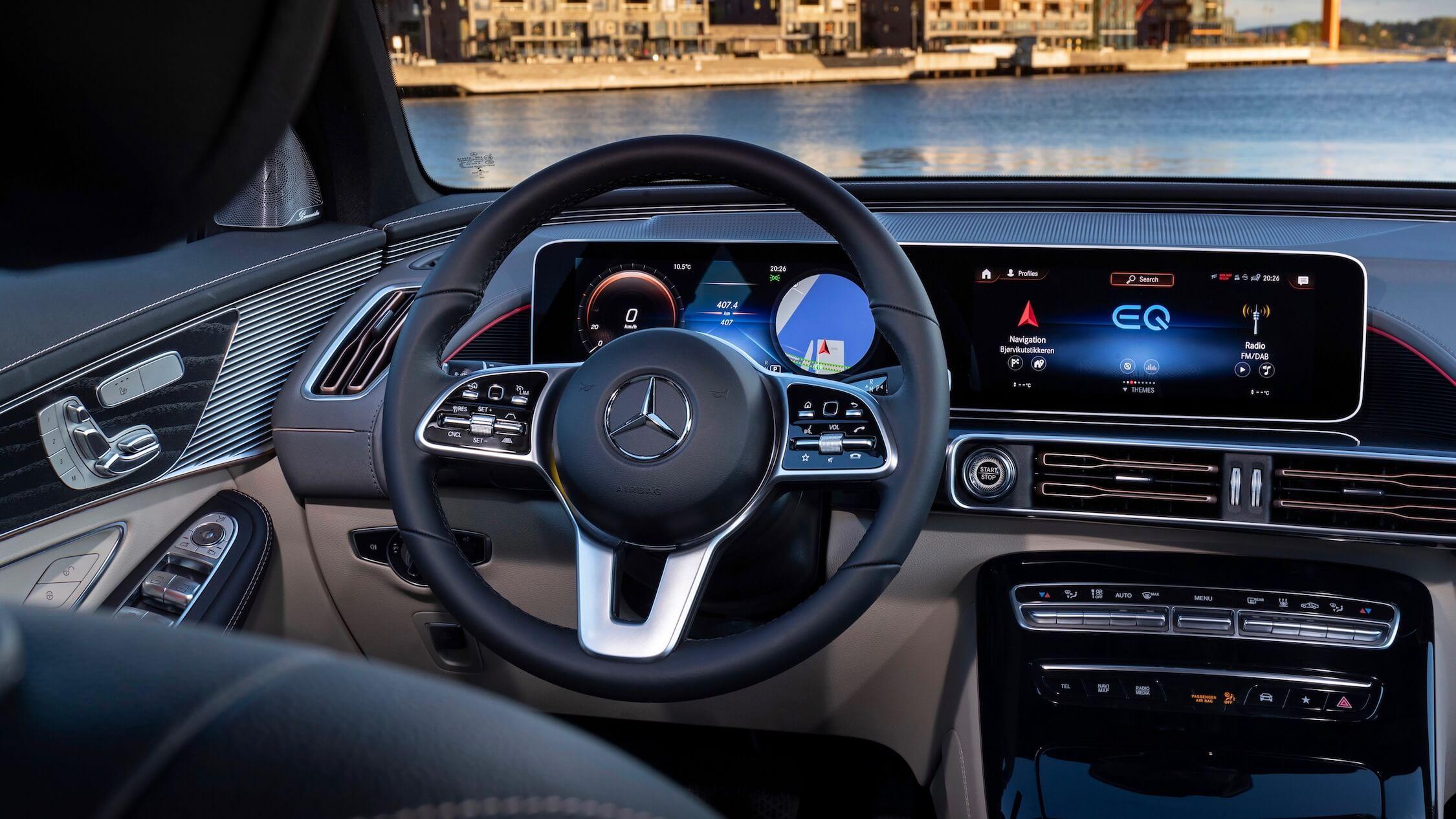 Mercedes EQC tellers