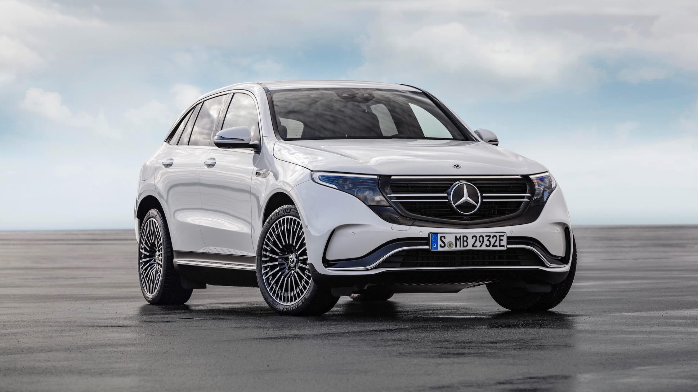 Mercedes EQC wit