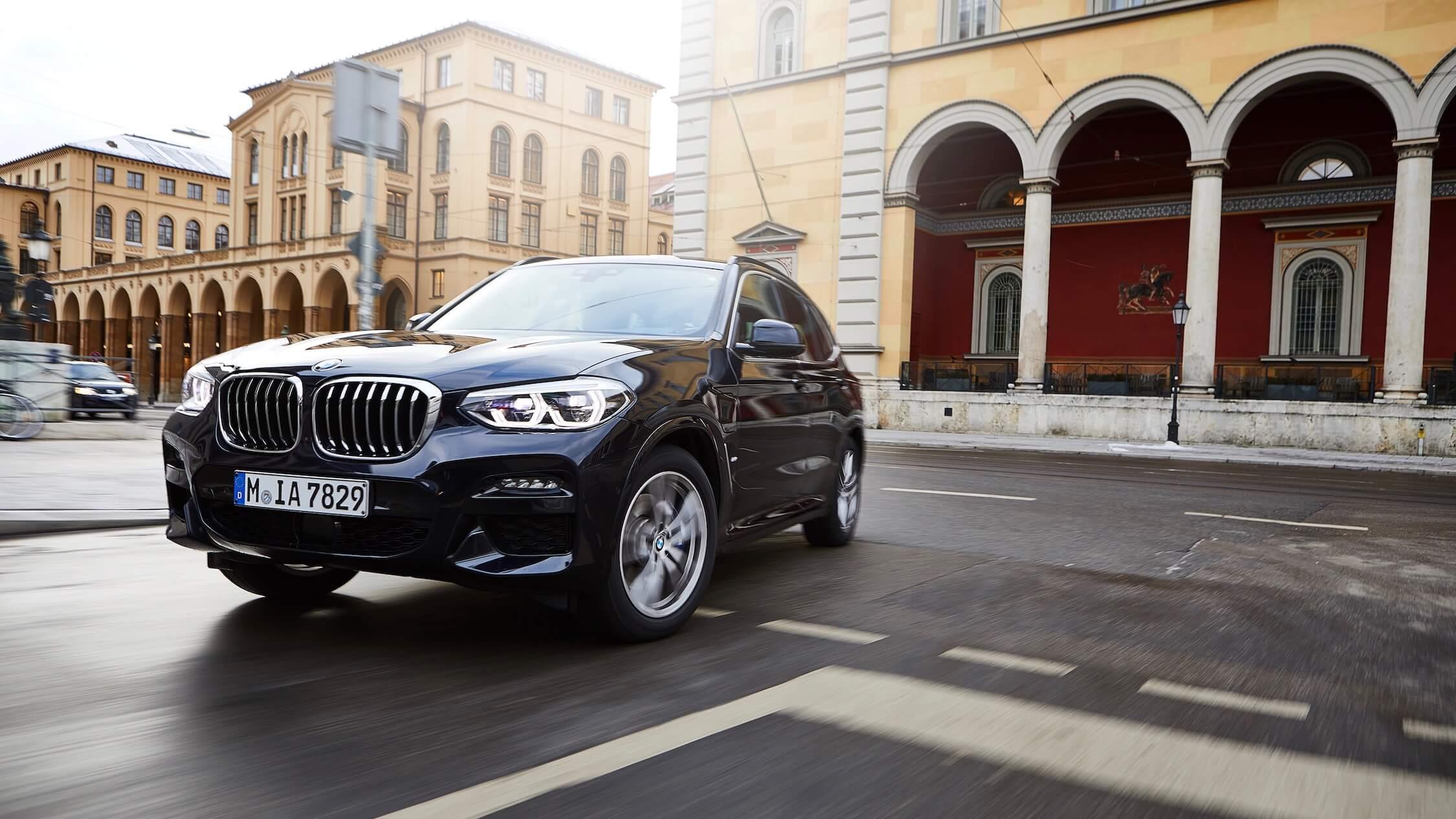 Nieuwe BMW X3 hybride