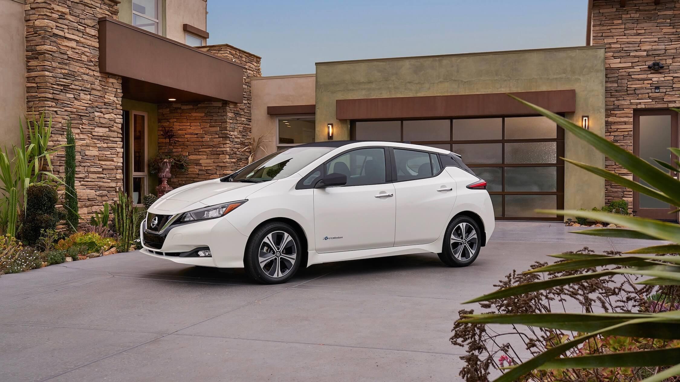 Nieuwe Nissan Leaf elektrisch