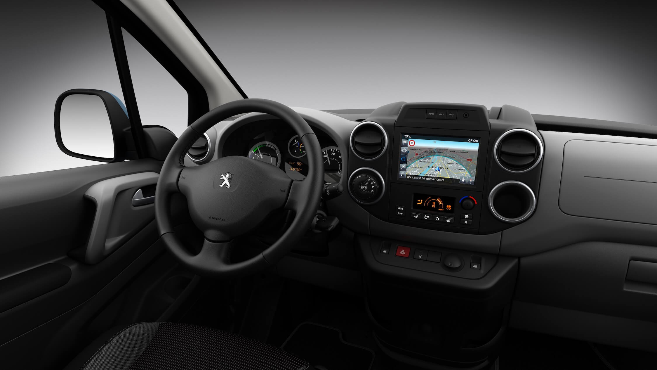 Peugeot Partner Electric interieur