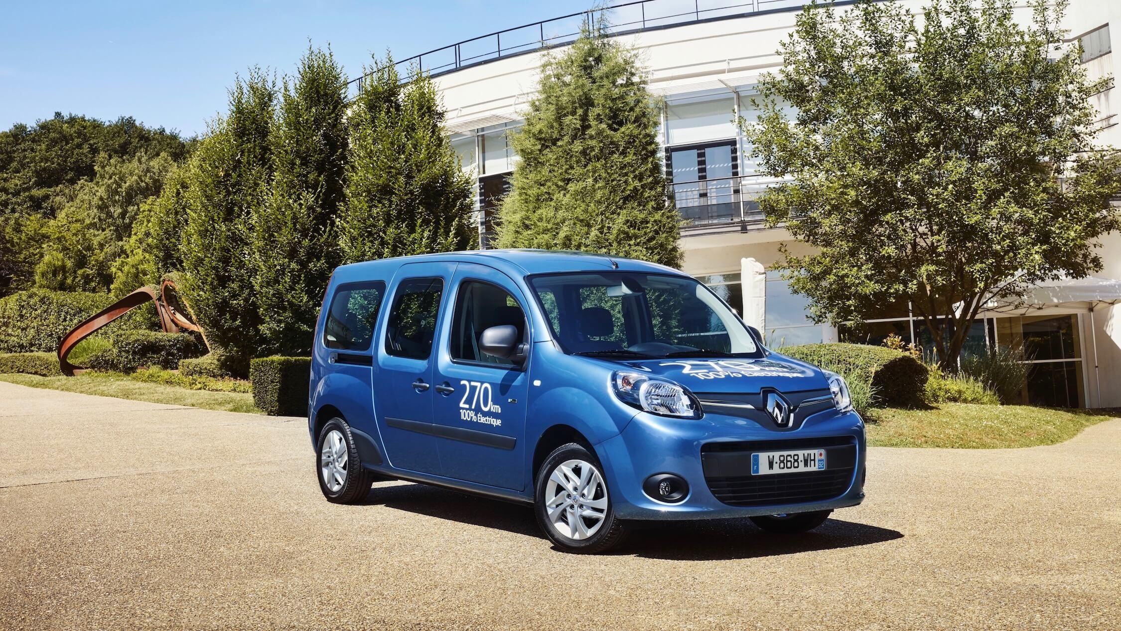 Renault Kangoo ZE Maxi elektrische bestelwagen