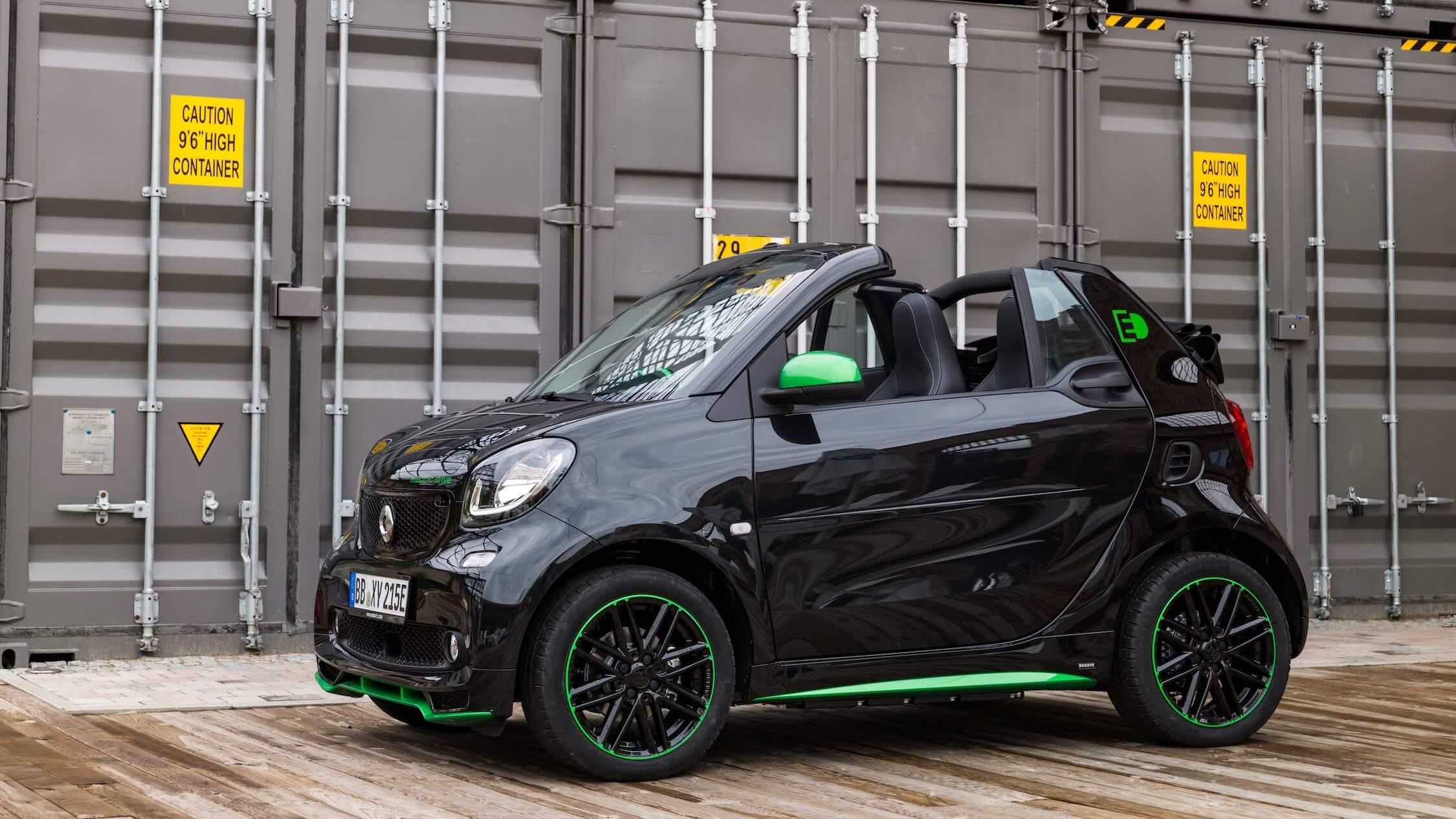 Smart cabrio open dak