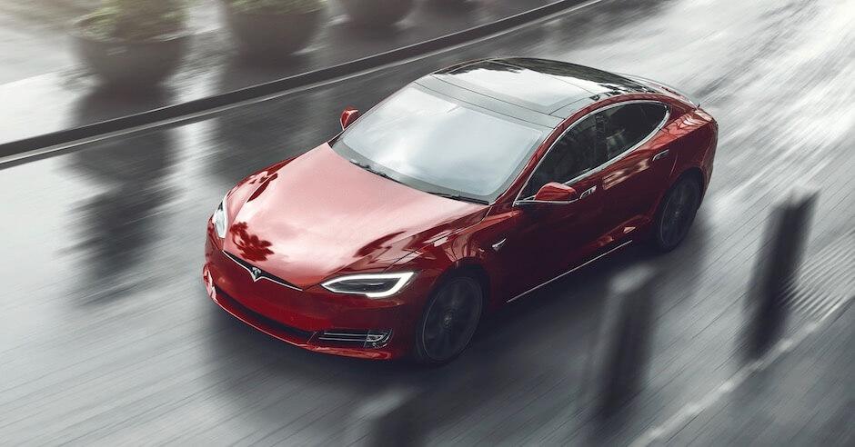 Tesla Model S regen