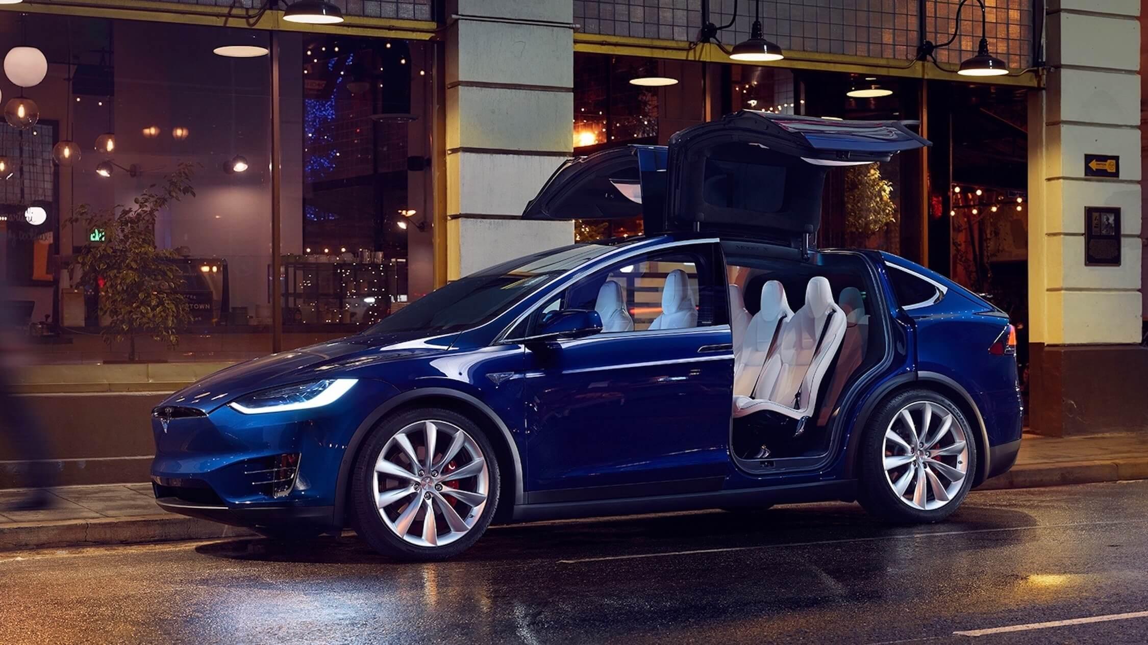 Tesla Model X deuren