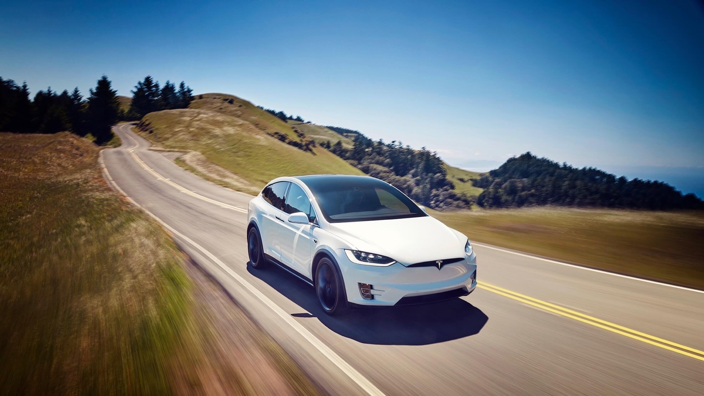 Tesla Model X elektrische SUV