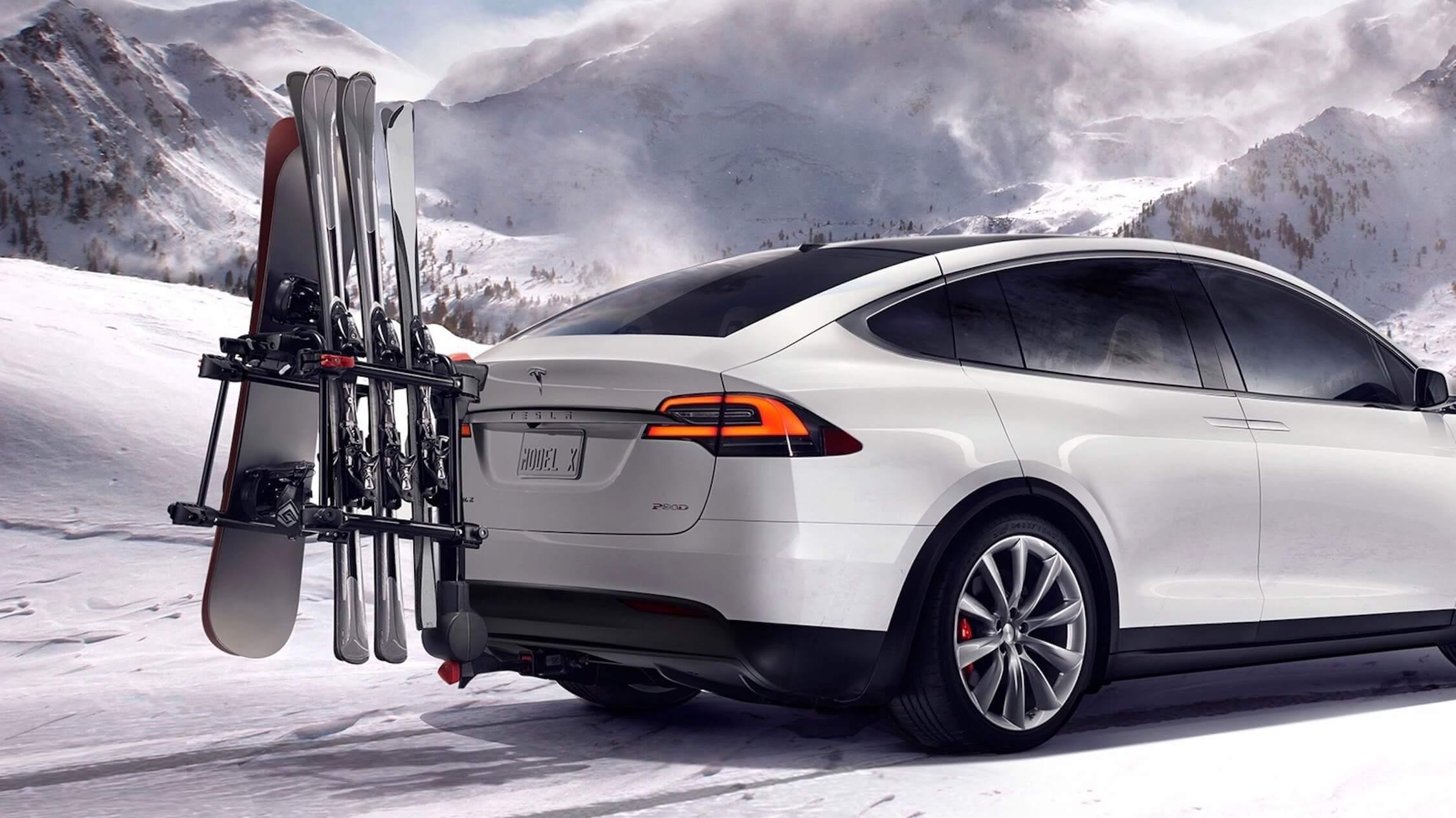 Tesla Model X ski dragers